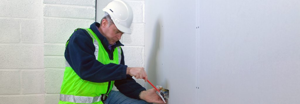 Electrician Performing Tasks, Canberra Electrical Services